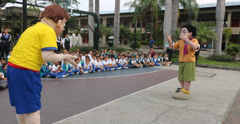 jardin, escuela, colegio bilingüe con valores ecológicos en guayaquil