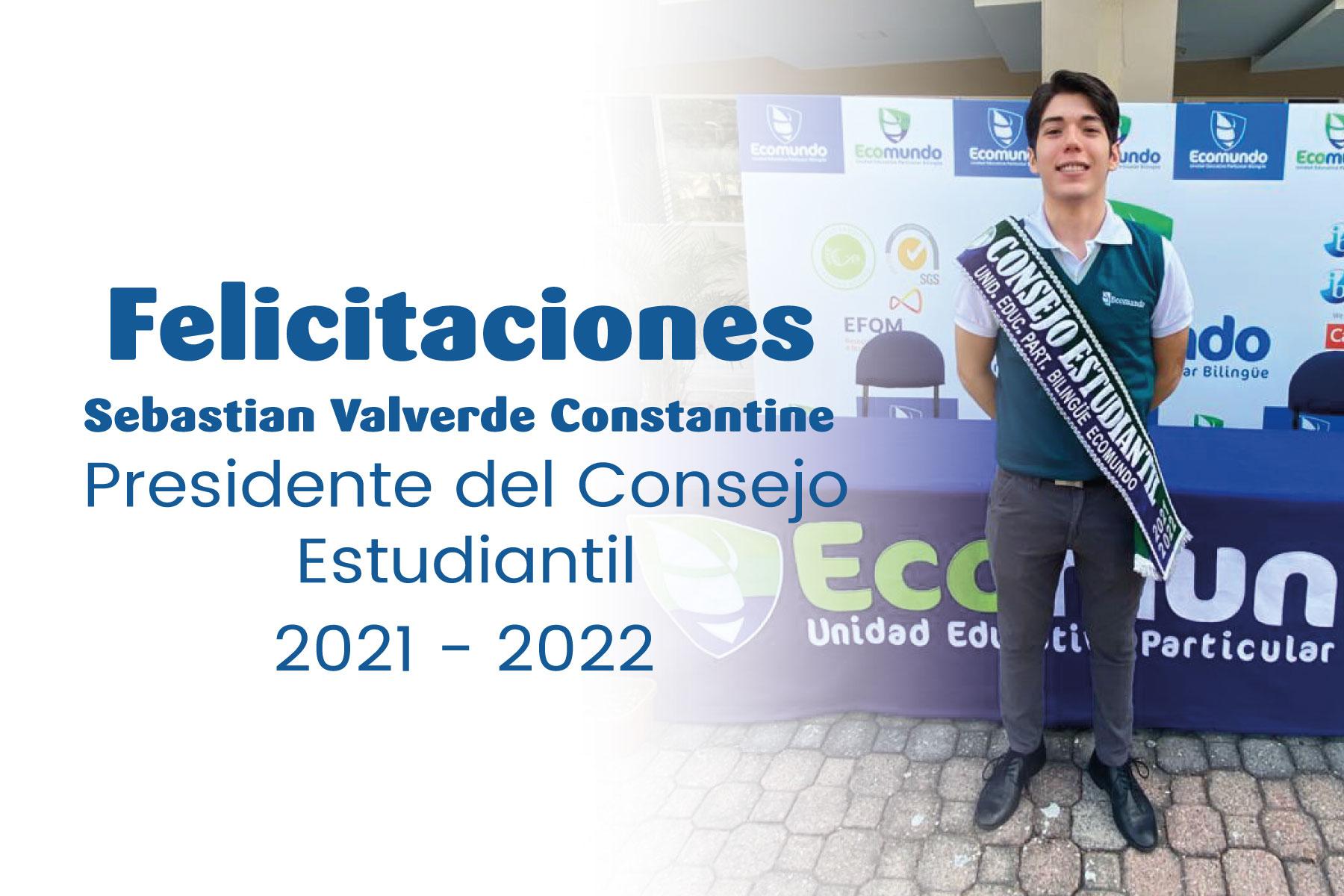 Presidente consejo estudiantil 2021